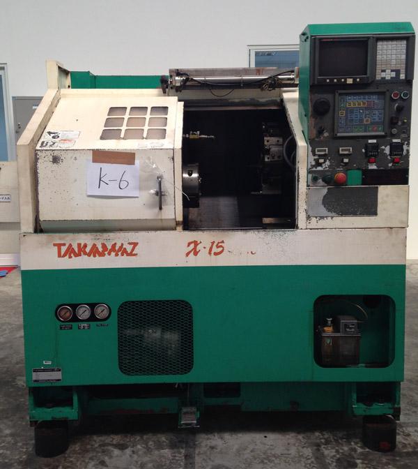 Takamaz X-15 CNC Lathe